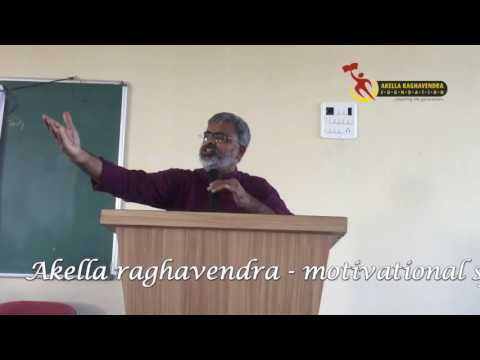 Motivational Speech | CMR College of Engg | Akella Raghavendra