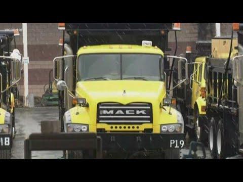 NCDOT Crews Treating Roads Overnight