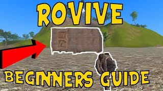 BEGINNERS GUIDE on ROVIVE   Roblox rovive