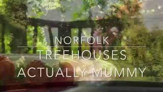 Family Treehouses at West Lexham in Norfolk.