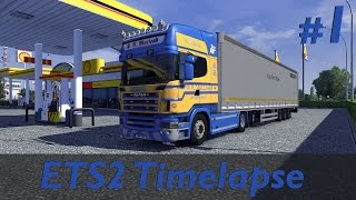 ETS2 - Timelapse - Rouen To E45 Truckstop - ProMods 1.8