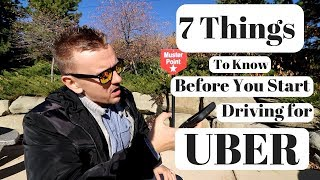 7 Things To Know Before You Start Driving for UBER