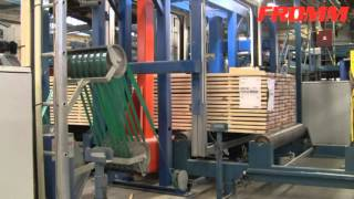 全自動PET帶捆包機PM200系列,適用於木業,可連續作業提升打包速度 【FROMM富朗包裝】徑向打捆機 外周打包機 全自動打帶機 thumbnail