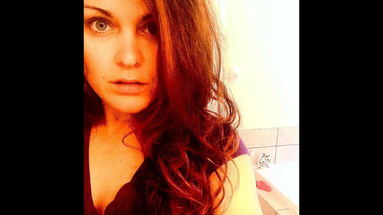 Lush Henna Hair Dye Tutorial Review Caca Rouge Youtube