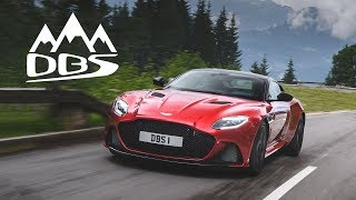 Aston Martin DBS Superleggera: Mountains Of Torque - Carfection (4K)