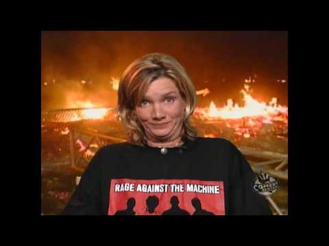 WOODSTOCK 99 1999 FIRE BURN RIOT RIOTS FLAMES INTERVIEW AFTER CHAOS FIRES HD