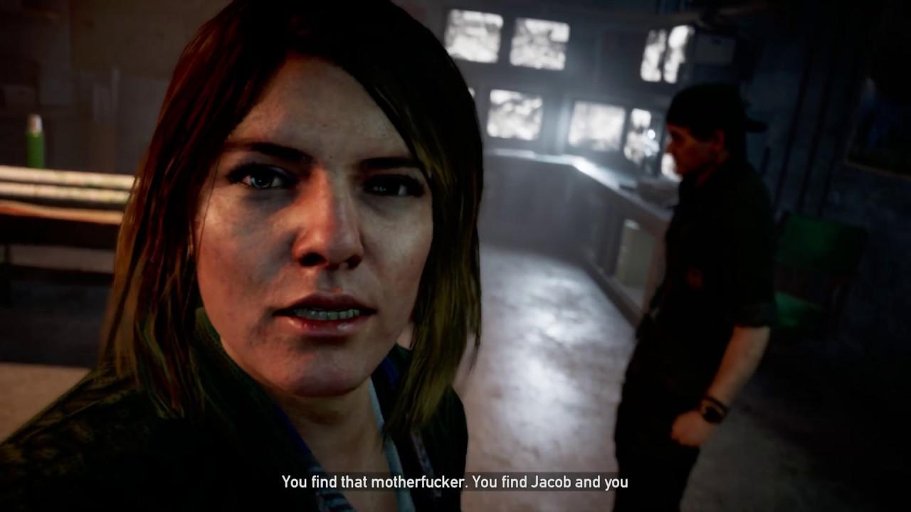 Far Cry 5 Only You Tammy Barnes Stop Junior Deputy From Mind Control Kill Him Cutscene 2018 Youtube