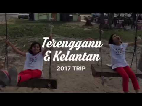 Kelantan & Terengganu 2017 Trip #By Twins & Family