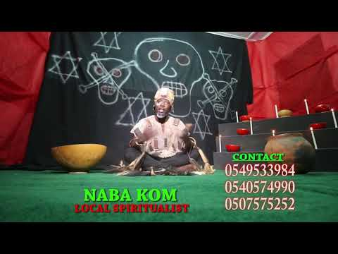 Consult Nabakoom on +233549533984 / +233507676252 for permanent solution to all your spiritual inclu