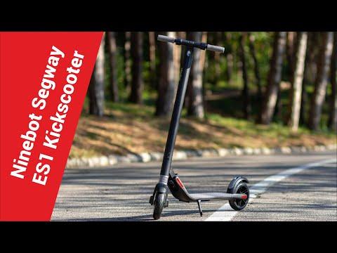 Ninebot By Segway Kickscooter ES1 - Cамый доступный электросамокат!
