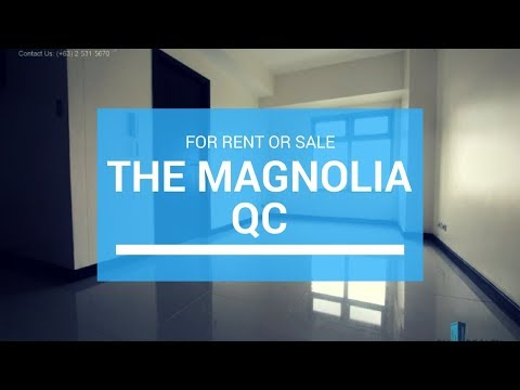 Magnolia Residences Tower for Sale ₱ 6 M or Rent ₱ 25,000/Mo