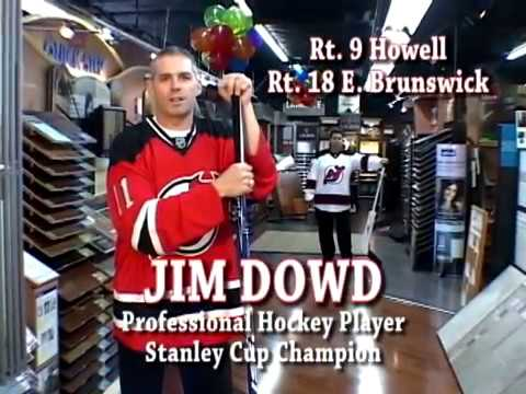 Just Carpets Flooring With Hockey Pro Jim Dowd In Tv Commercial