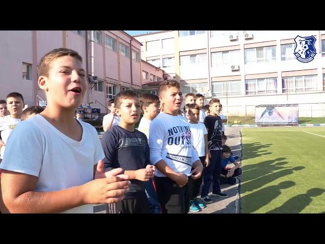 """""""Joacă fotbal cu FC Farul Constanța"""", la Școala """"Grigore Moisil"""" din Năvodari"""