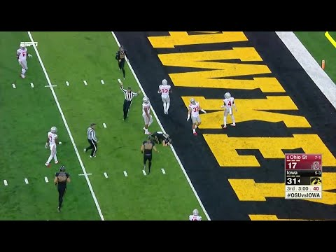 Iowa Trick Play Sets Up TD vs. Ohio State