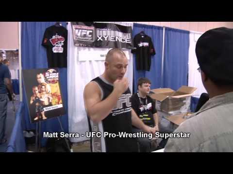 Yancy Butler - Witchblade & Matt Serra  UFC Pro-Wrestler Celebrity Inteviews