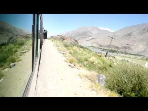 Tajikistan, road between Ishkashim and Langar, Panj Valley