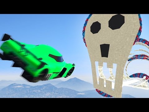 FLY TROUGH THE SKULL AT 200MPH! (GTA 5 Funny Moments)