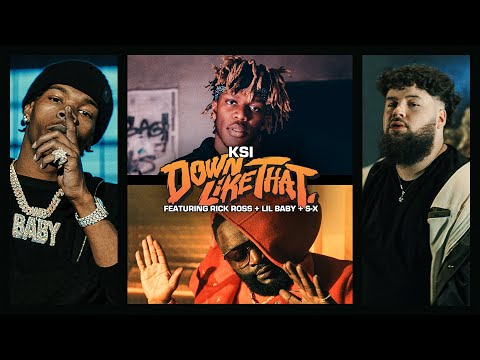KSI – Down Like That (Lyrics) ft. Rick Ross, Lil Baby & S-X