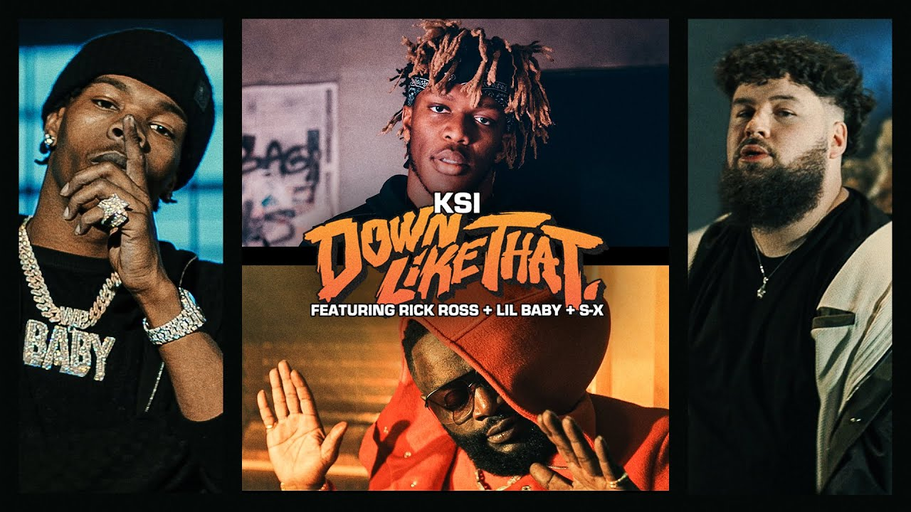 KSI – Down Like That feat. Rick Ross, Lil Baby & S-X (Official Video)