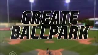 MVP 06 NCAA Baseball (Create a Ballpark)