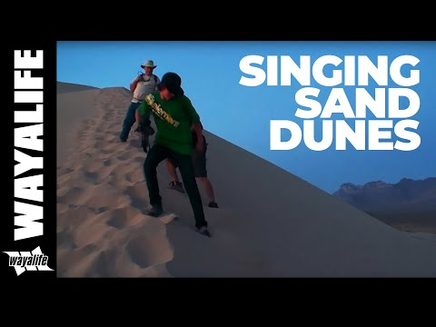 SINGING SAND of the Kelso Dunes - A Mojave National Preserve Jeep Adventure
