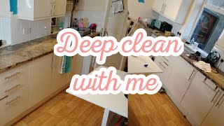 DEEP CLEAN / SPEED CLEAN  MY KITCHEN WITH ME