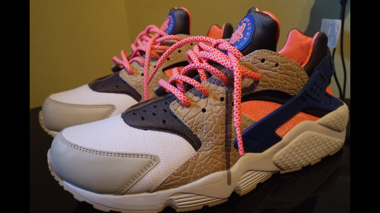 9416879030f0b ... france nike air huarache le safari w cotton candy lace swap youtube  983fe 501f2