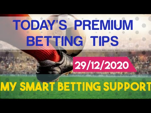 FOOTBALL PREDICTIONS TODAY | 29/12/2020 | Betting tips today | my smart betting support