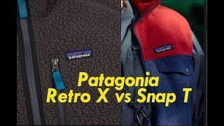 Gambar cover Patagonia Retro Pile X Synchilla Snap T Fleece Comparison Review Vest