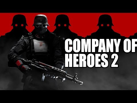 What If Wolfenstein Germany Fought In World War 2? Company Of Heroes 2 WW2