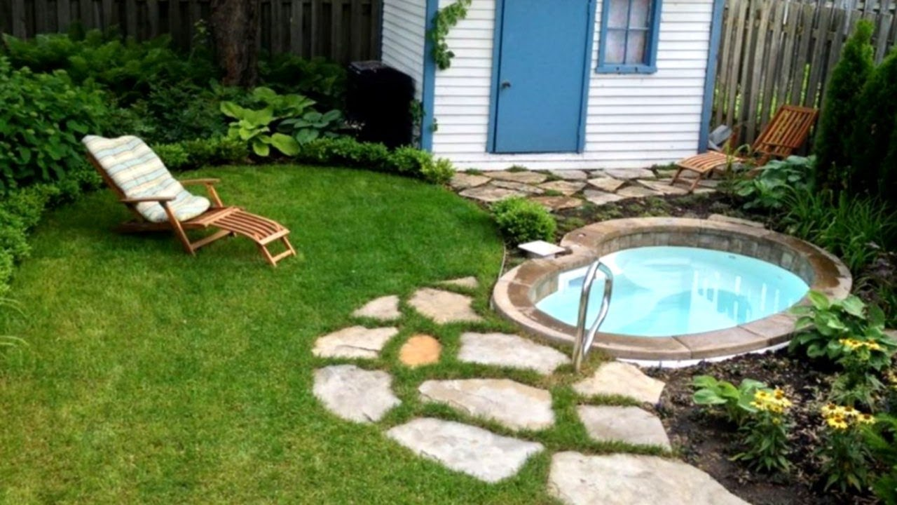 29+ Small Yard Design Ideas | Part 5 - YouTube on Small Backyard Layout id=66952