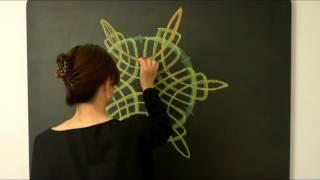 e-waldorf Form Drawing demonstration movie http://books.e-waldorf.com.