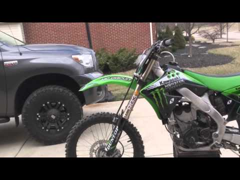 2010 kx250f Walk Around| FMF Exhaust | One Industries Graphics | RG3 Suspension | ASV Levers & more