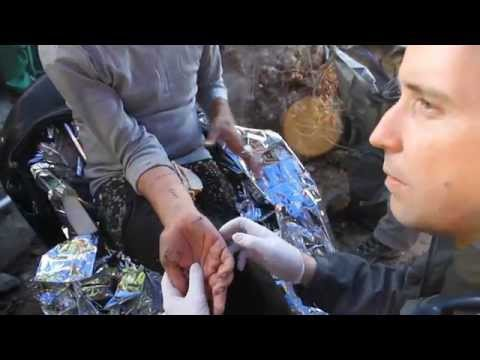Refugee Stabbed in Turkey - Lesbos Greece - isis