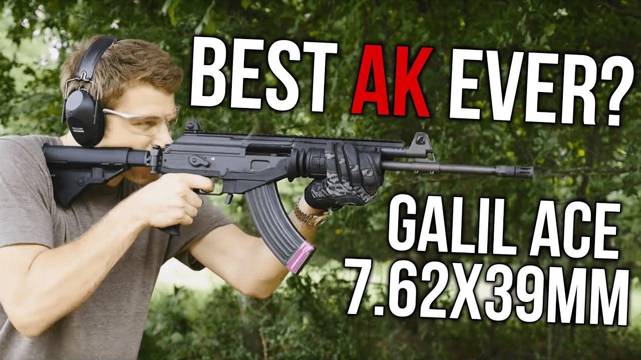 The Best AK Ever? Galil ACE 800+ Round Rifle Review -The Firearm Blog