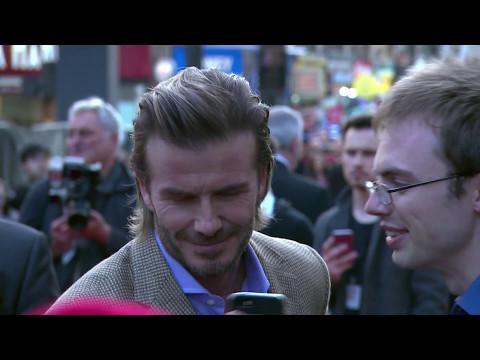 King Arthur Legend of the Sword European Premiere Red Carpet - David Beckham, Charlie Hunnam