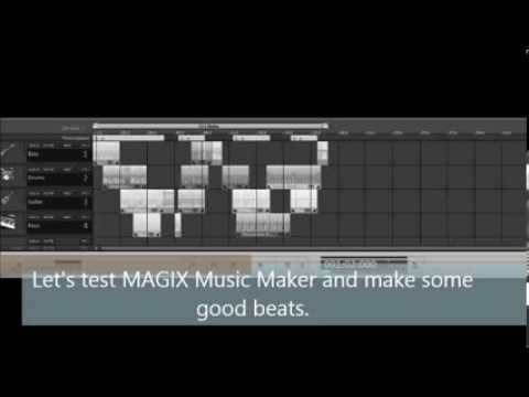 Test MAGIC Music Maker Trial Version