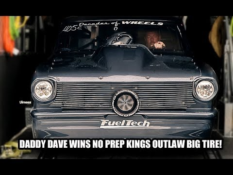 DADDY DAVE SPANKS THE MISTRESS,STINKY PINKY, AFTERSHOCK, TURBO FIREBIRD! WINS OUTLAW BIG TIRE! $10K!