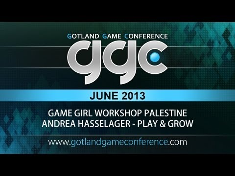 GGC 2013 - Game Girl Workshop Palestine - Andrea Hasselager