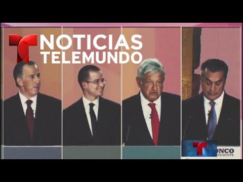 VIDEO: Segundo debate presidencial mexicano del 2018   Noticias   Telemundo