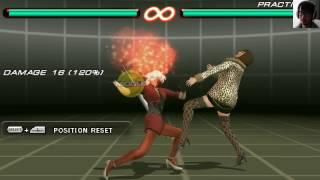 Enhanced Anna v1.0 (LINK TO CODES!) Tekken 7 Experience 5 (Tekken 6 PSP).