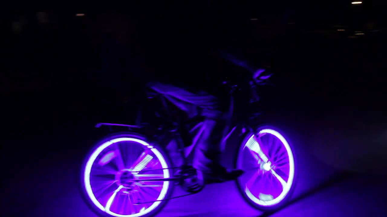 Coolest Thing Ever Crazy Glowing Bikes! Glow Candy ...
