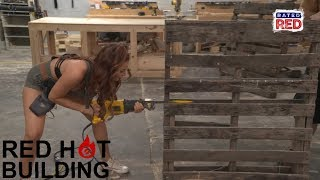 3 Ways to Take Apart a Pallet   Red Hot Building