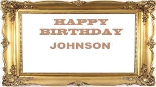Johnson   Birthday Postcards & Postales - Happy Birthday