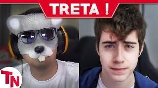 Rato Borrachudo dorme na live e cai da cadeira, Cellbit critica YouTube Brasil thumbnail