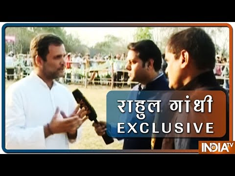 PM Modi's game over: Rahul Gandhi Ahead Of Lok Sabha Election Results   IndiaTv Exclusive Interview