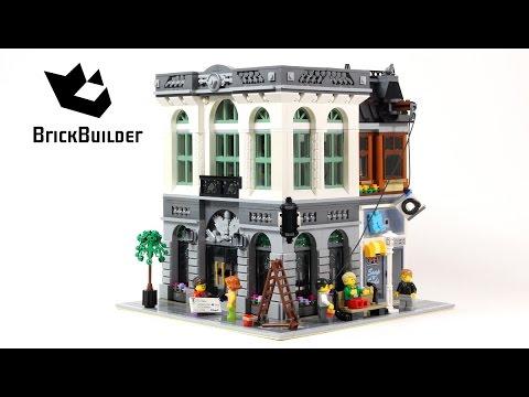 Lego Creator 10251 Brick Bank - Lego Speed Build