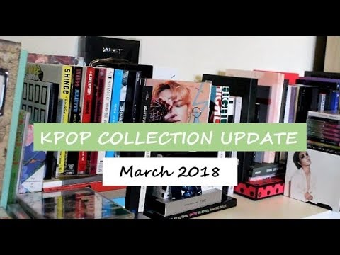Kpop Album, Photobook and DVD Collection Update | March 2018