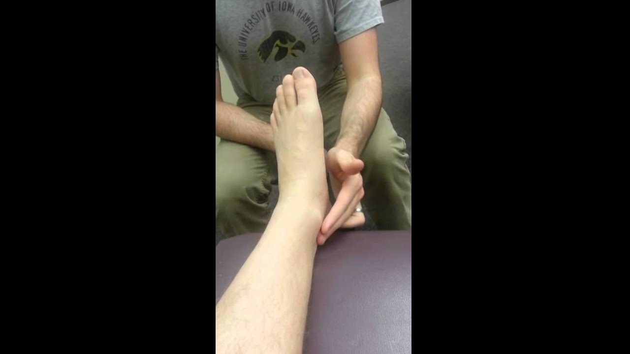 Dorsalis Pedis and Posterior Tibial Pulses - YouTube