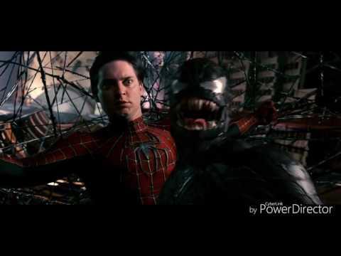 Spiderman 3 All Venom scenes